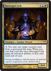 Havengul Lich - Foil on Channel Fireball