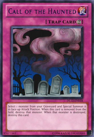 Call of the Haunted - Purple - DL12-EN018 - Rare - Promo Edition