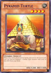 Pyramid Turtle - Purple - DL11-EN008 - Rare - Promo Edition on Channel Fireball