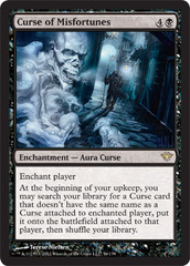 Curse of Misfortunes - Foil on Channel Fireball