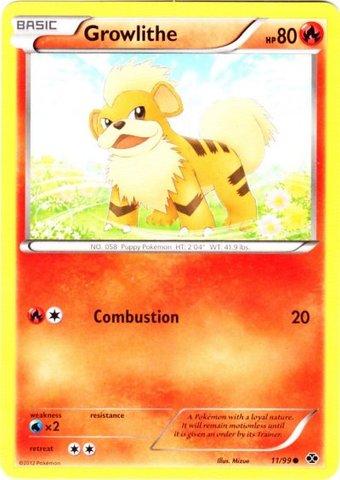 Growlithe Pokemon Card Growlithe - 11/...