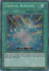 Crystal Blessing - RYMP-EN050 - Secret Rare - 1st Edition