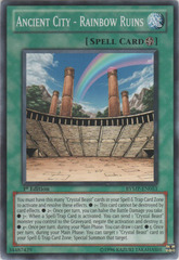 Ancient City - Rainbow Ruins - RYMP-EN053 - Common - 1st Edition on Channel Fireball