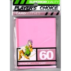 Player's Choice (Pink) - Standard Sleeves - 60ct