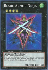 Blade Armor Ninja - ORCS-EN041 - Super Rare - Unlimited Edition on Channel Fireball