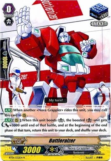 Battleraizer - BT01/032EN - R