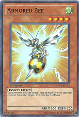 Armored Bee - PRC1-EN007 - Super Rare - 1st Edition on Channel Fireball