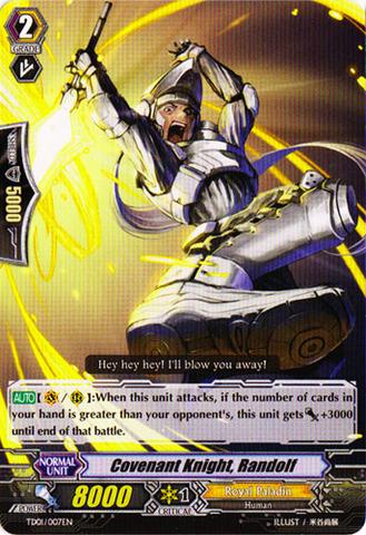 Covenant Knight, Randolf - TD01/007EN
