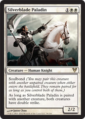 Silverblade Paladin - Foil on Ideal808