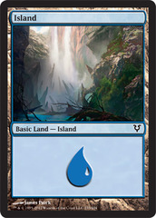 Island (233) on Channel Fireball