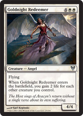 Goldnight Redeemer - Foil on Ideal808