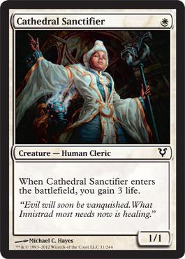Cathedral Sanctifier - Foil