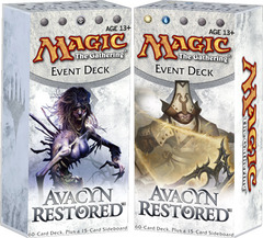 Avacyn Restored Event Decks: Set of Two on Channel Fireball