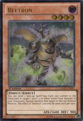 Beetron - GAOV-EN092 - Ultimate Rare - 1st Edition on Channel Fireball