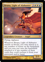 Bruna, Light of Alabaster Foil Oversized Helvault Promo