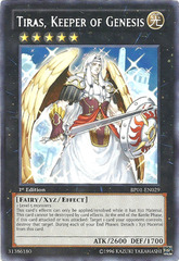 Tiras, Keeper of Genesis - BP01-EN029 - Rare - 1st Edition