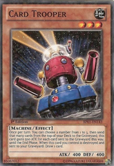 Card Trooper - BP01-EN143 - Starfoil Rare - 1st Edition