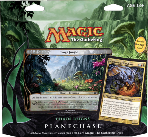 Planechase 2012 Deck - Chaos Reigns