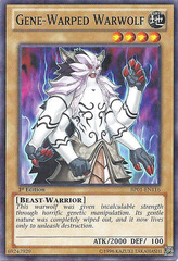 Gene-Warped Warwolf - BP01-EN116 - Starfoil Rare - 1st Edition