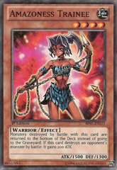 Amazoness Trainee - BP01-EN213 - Starfoil Rare - 1st Edition on Channel Fireball