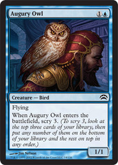 Augury Owl on Channel Fireball