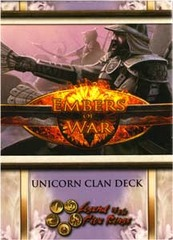 Embers of War Unicorn Clan Starter Deck