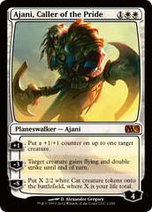 Ajani, Caller of the Pride - Foil on Channel Fireball