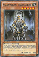 Grandmaster of the Six Samurai - SDWA-EN002 - Common - 1st Edition on Channel Fireball
