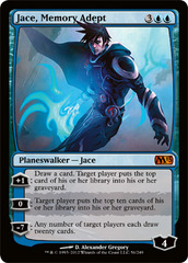 Jace, Memory Adept - Foil on Ideal808