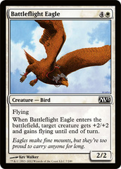 Battleflight Eagle - Foil on Channel Fireball
