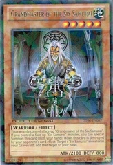 Grandmaster of the Six Samurai - DT06-EN057 - Rare Parallel Rare - Duel Terminal on Channel Fireball