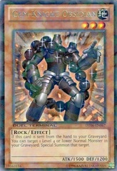 Gem-Knight Obsidian - DT06-EN067 - Rare Parallel Rare - Duel Terminal on Channel Fireball