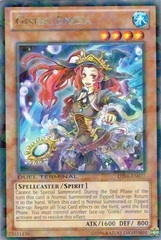 Gishki Emilia - DT06-EN077 - Rare Parallel Rare - Duel Terminal on Channel Fireball