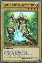 Noble Knight Artorigus - GAOV-EN000 - Super Rare - Unlimited Edition
