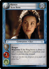 Arwen, Elven Rider - Oversized - Foil