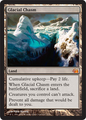 Glacial Chasm - Foil on Channel Fireball