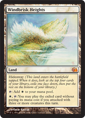 Windbrisk Heights - Foil on Channel Fireball