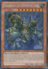 Grandsoil the Elemental Lord - REDU-EN038 - Secret Rare - 1st Edition
