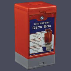 Fantasy Flight Supply Deck Box: Red