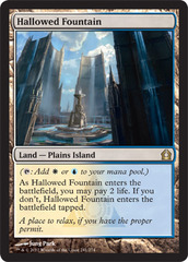 Hallowed Fountain on Channel Fireball