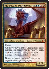 Niv-Mizzet, Dracogenius - Foil on Ideal808