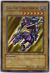 Gaia The Fierce Knight - LOB-006 - Ultra Rare - 1st Edition