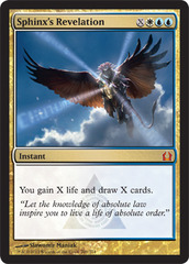 Sphinx's Revelation - Foil on Channel Fireball