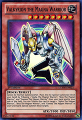 Valkyrion the Magna Warrior - LCYW-EN021 - Super Rare - 1st Edition
