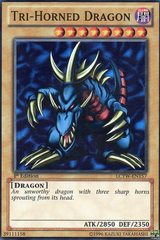 Tri-Horned Dragon - LCYW-EN157 - Super Rare - 1st Edition
