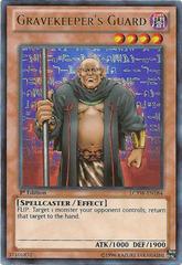 Gravekeeper's Guard - LCYW-EN184 - Ultra Rare - 1st Edition