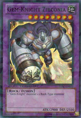 Gem-Knight Zirconia - DT07-EN033 - Super Parallel Rare - Duel Terminal on Channel Fireball