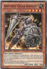 Ancient Gear Knight - BP01-EN146 - Starfoil Rare - Unlimited Edition on Channel Fireball