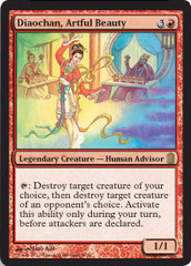 Diaochan, Artful Beauty - Foil on Channel Fireball