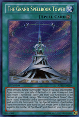 The Grand Spellbook Tower - ABYR-EN060 - Secret Rare - 1st Edition on Channel Fireball